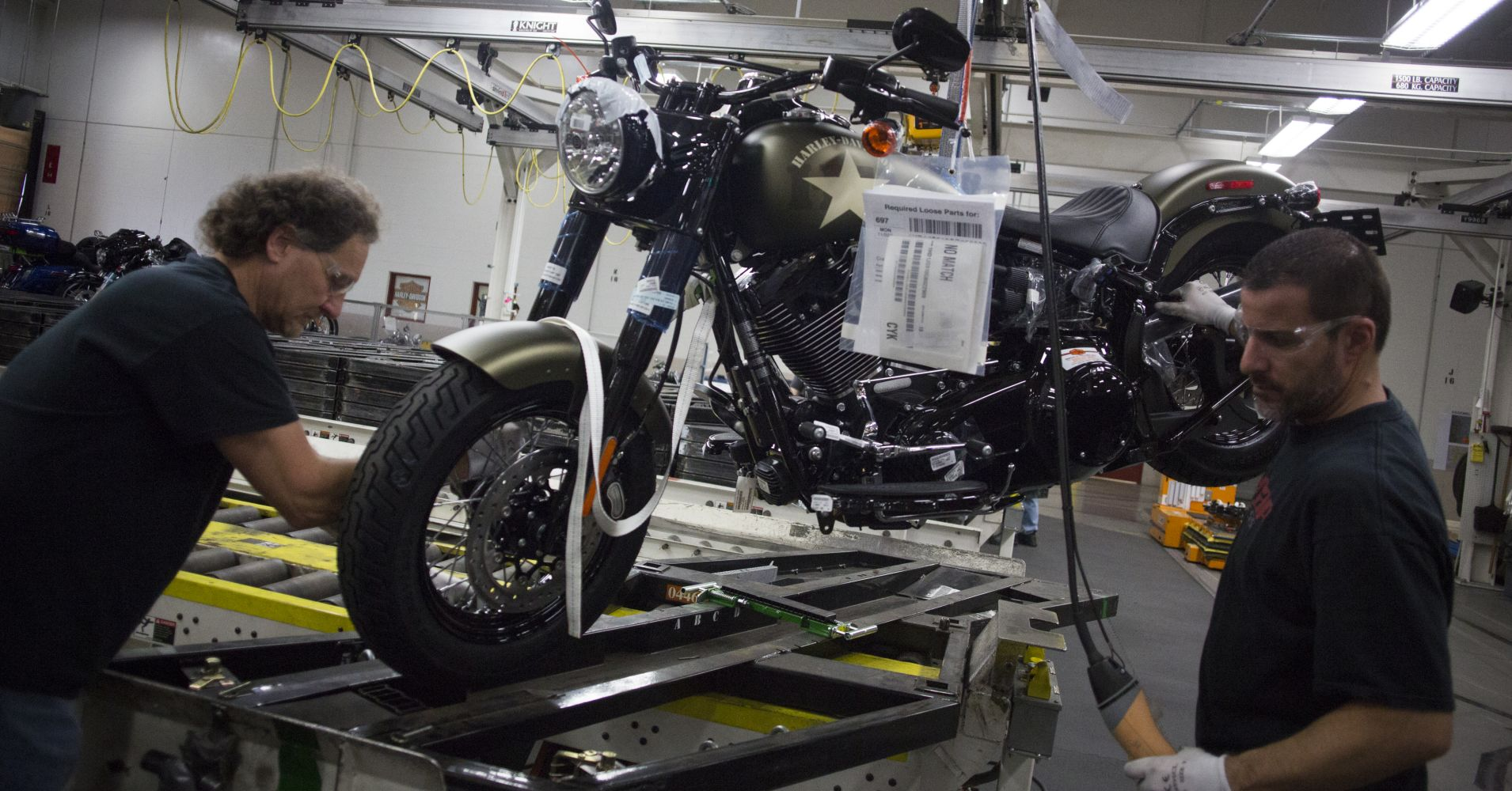 Harley Davidson: Harley-Davidson To Move Some Production Out Of US To Avoid