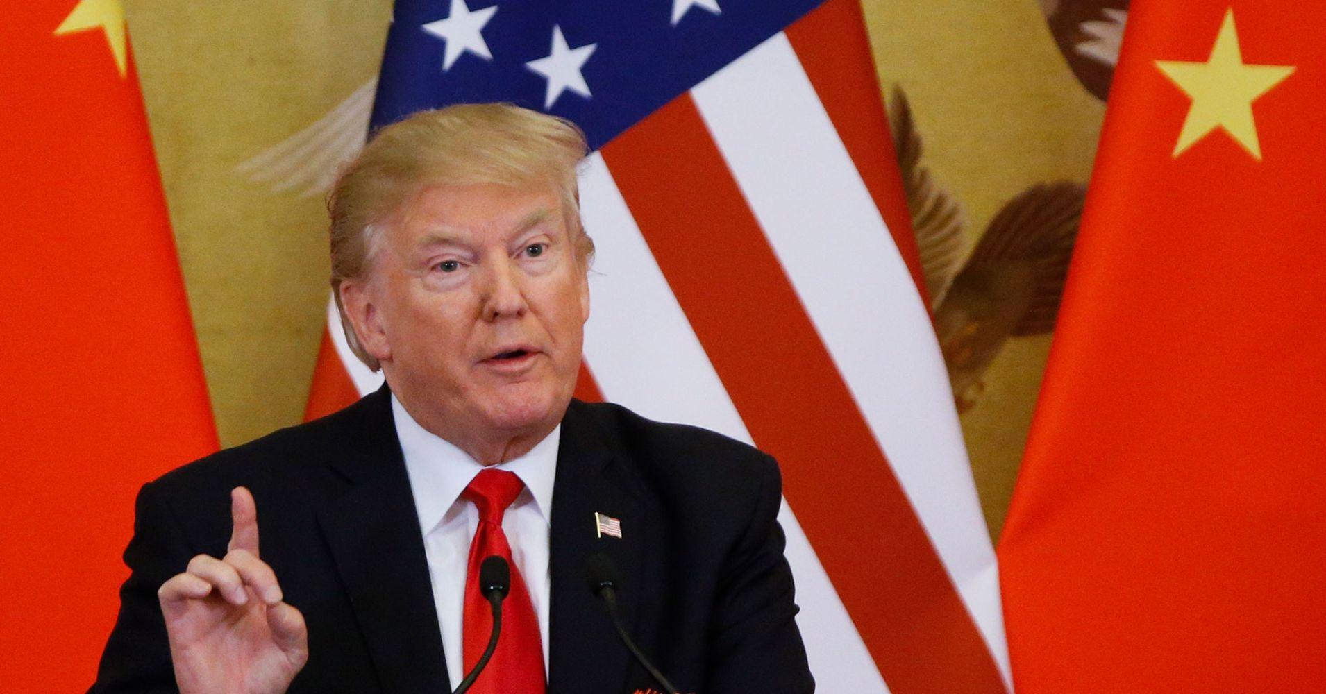 特朗普表示,尽管谈判,但仍需要对200亿美元的中国商品征收关税  自动外汇机器人和信号